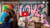 Celebración del Día de reyes 2017 en la Asoc. Guaraní de Valencia – España